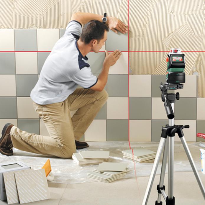 Лазерный нивелир – помощник строителя